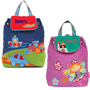 Personalised Children's Quilted Backpacks