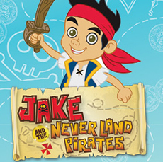 Jake & The Never Land Pirates Wall Stickers