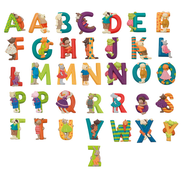 Children's Resin Door Letters