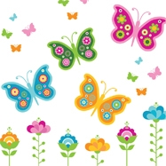 Butterfly & Ladybird Bedding and Gifts