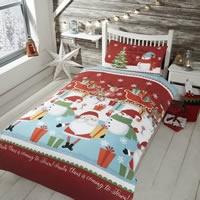 Children's Christmas Single Duvet Cover Sets