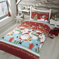 Children's Christmas Single Duvet Cover Sets