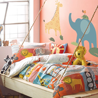 Children's Jungle Bedroom Theme