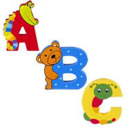 Children's Door Letters