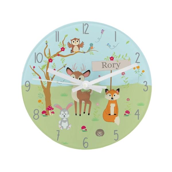 Personalised Children's Wall Clocks