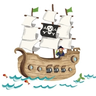 Pirate Bedding and Gifts