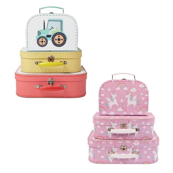 Children's Storage Suitcases