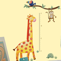 Wall Sticker Height Charts