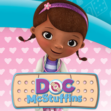 Doc McStuffins Wall Stickers