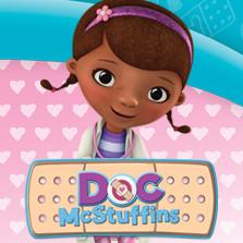 Doc McStuffins Wall Stickers