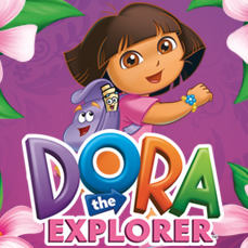 Dora The Explorer Wall Stickers