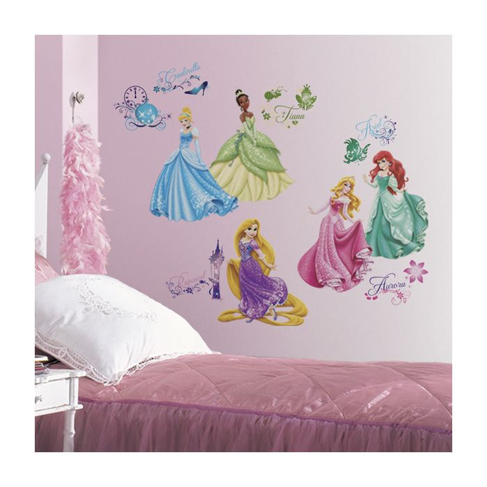 Disney Princess Royal Debut Wall Stickers