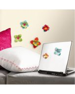3D Flower Wall Stickers