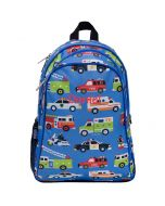 Personalised Boy Backpacks - Actions Vehicles