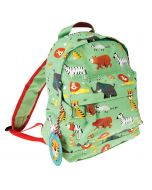 Boys Green Mini Jungle Backpack