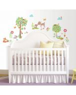 Woodland Wall Stickers for Kids