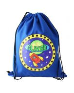 Children's Personalised PE Bag - Space