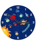 Boy's Personalised Space Clock