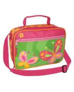 Children's Pink Butterfly Lunch Bag
