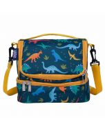 Dual Compartment lunch bag Dinosaur