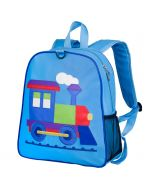 Embroidered Children's Backpack – Train