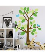 Dotted Tree Wall Stickers