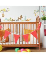 Woodland Fox & Friends Wall Stickers