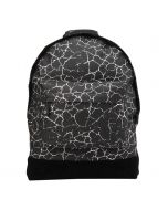 Mi Pac Backpack - Cracked Black & Silver