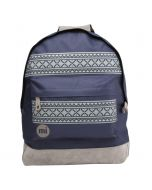 Mi Pac Backpack - Navy Nordic & Charcoal