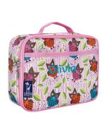 Personalised Owl Kids Lunch Bag