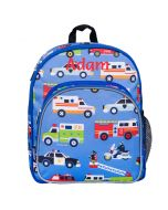 Toddler Backpack With Action Vehicles