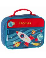 personalised space rocket lunch box