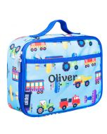 Personalised Transport kids Lunch bag