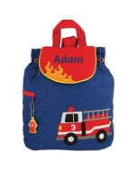 Personalised Toddler Backpack - Fire engine