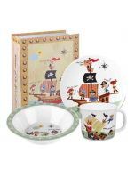 Pirate Melamine Breakfat Set