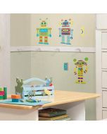 Build a Robot Wall Stickers