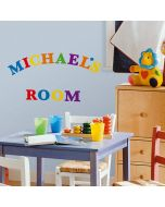 Colourful Alphabet Wall Stickers