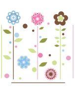 Growing Flowers Wall Stickers3