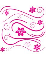 Deco Swirl Wall Stickers by RoomMates