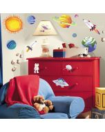 Outer Space  Wall Stickers