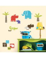 Safari Blocks Wall Stickers
