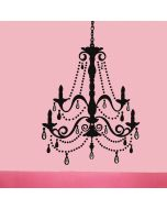 Chandelier With Gems Giant Wall Stickers by RoomMates