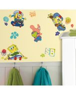 SpongeBob Squarepants Skater Wall Stickers