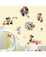 Minnie Mouse Loves To Shop Wall Stickers