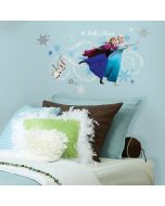 Disney's Frozen Headboard Wall Stickers With Personalisation