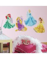 Disney Princesses and Castles - Giant Wall Sticker - Lifestyle Image