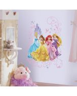 Disney Princesses Giant Wall Graphic - Lifestyle Image