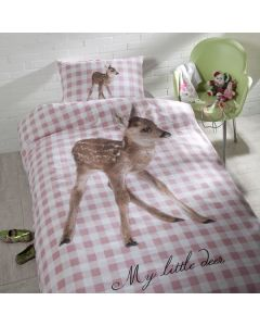 100% cotton kids duvet cover - Deer