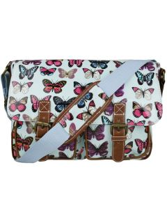 Girls satchels with butterfly