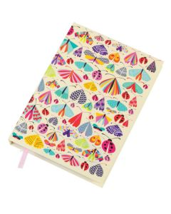 A5 Hardback Notebook - Ladybirds
